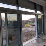 Yates Entrance Solutions - Automatic Sliding Door Mid Installation